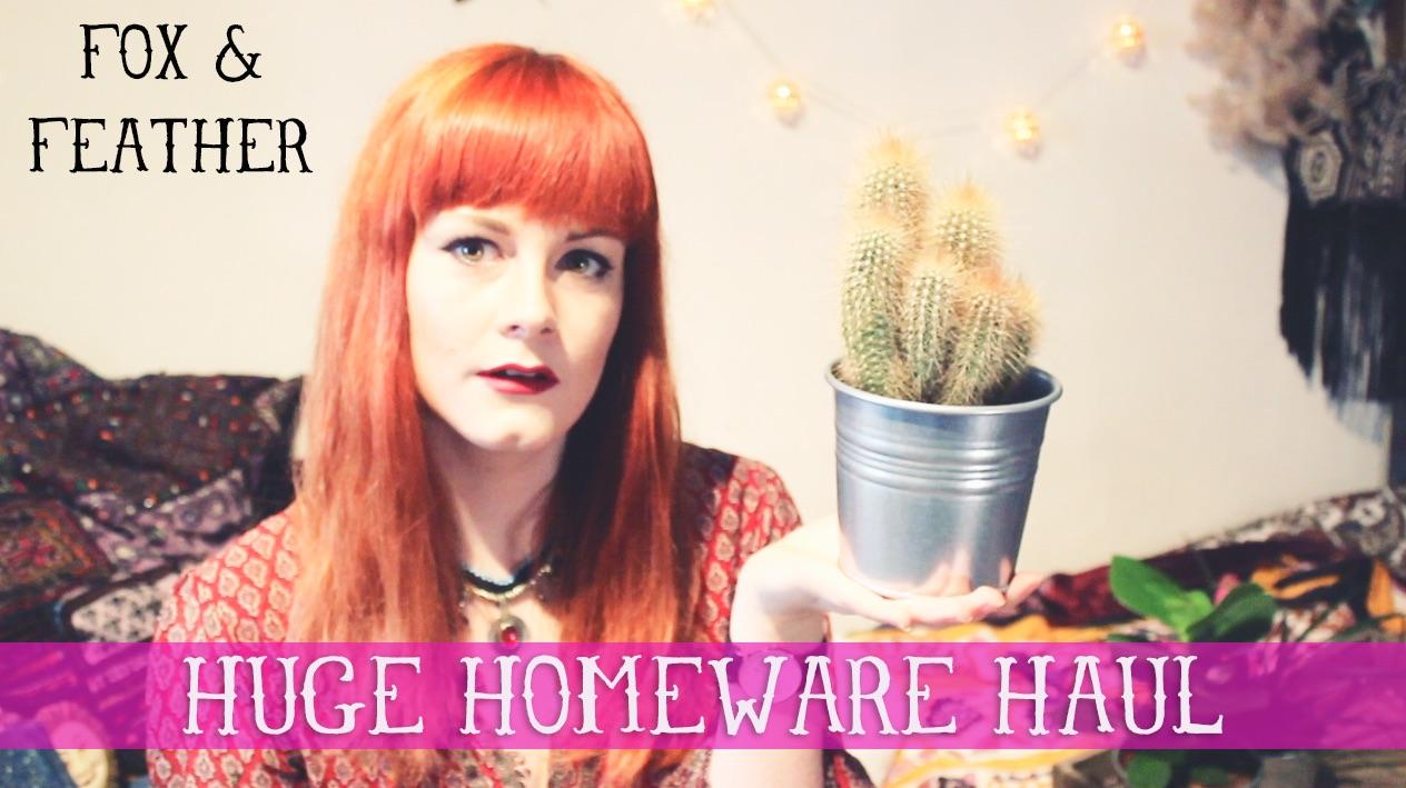 Huge Homeware Haul Video from TK Maxx, Homesense, Primark, TIGER & Charity Shops