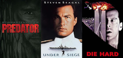 Predator; Under Siege; Die Hard
