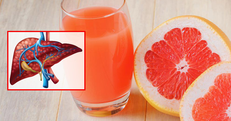 Grapefruit, liver