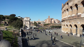 A spring day at the Colosseum