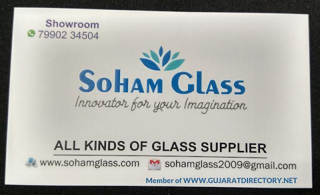 SOHAM GLASS - 9974142444 7990234504 9925685401