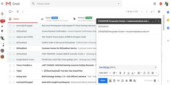 Cara Mengirim Dokumen Persyaratan Domain Web.id