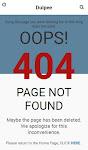 Cara Membuat Halaman Error 404 di Template AMP Blogspot