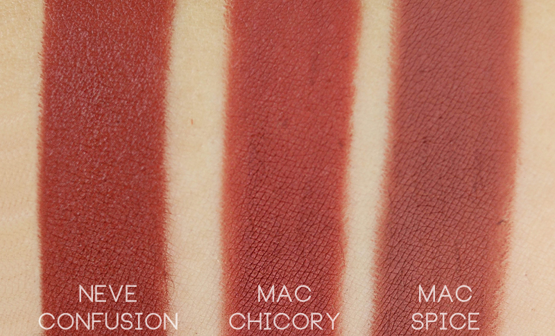Neve Cosmetics Mutations Confusion swatch