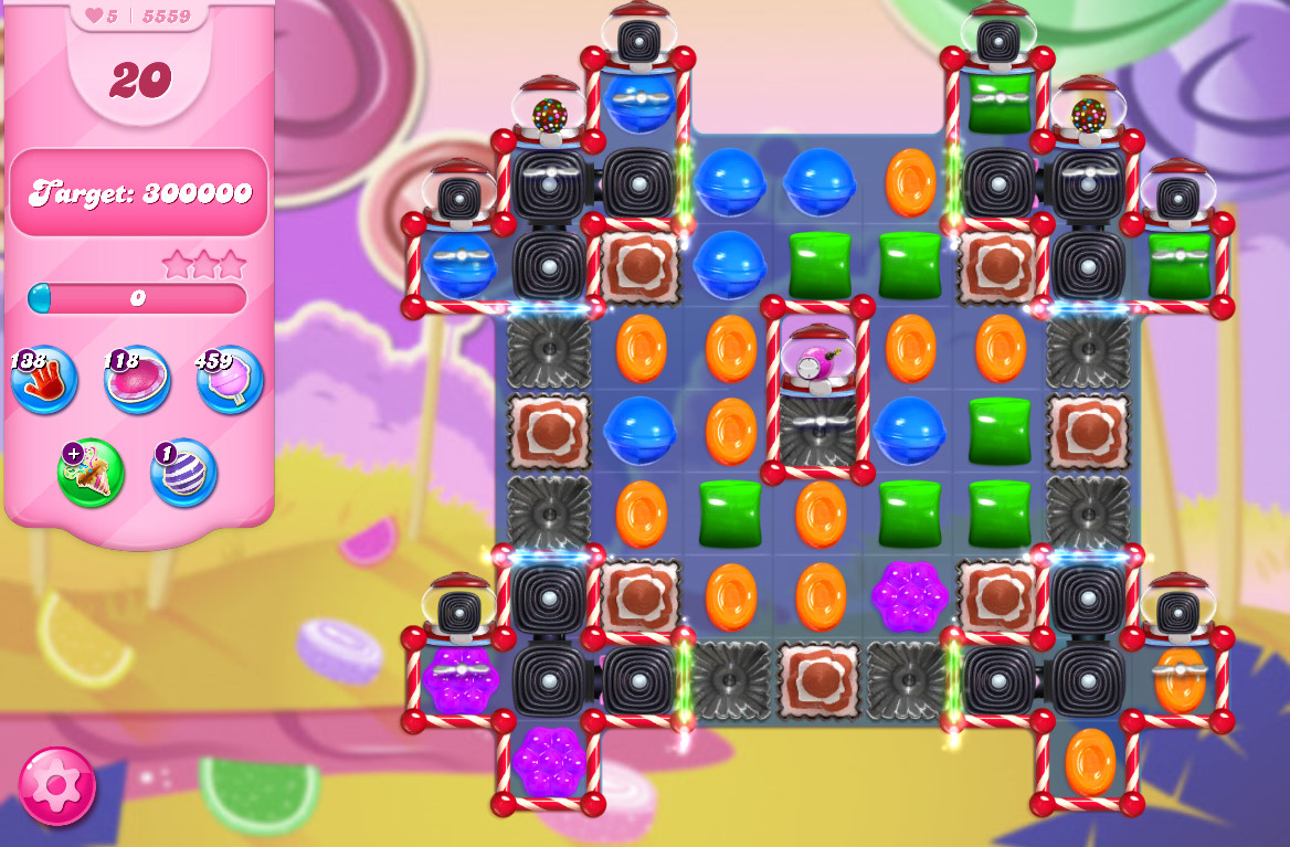 Candy Crush Saga level 5559