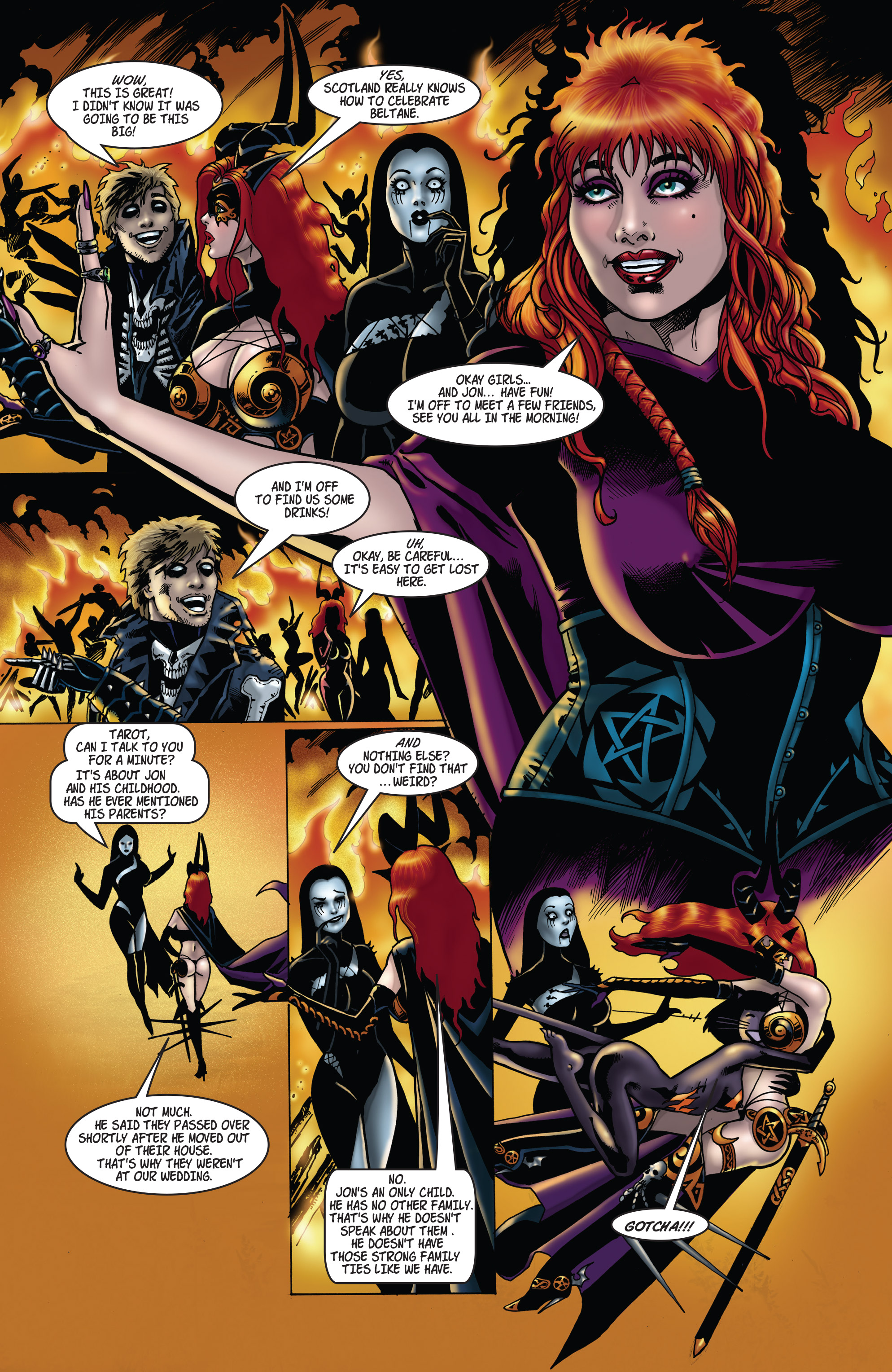 Read online Tarot: Witch of the Black Rose comic -  Issue #104 - 6