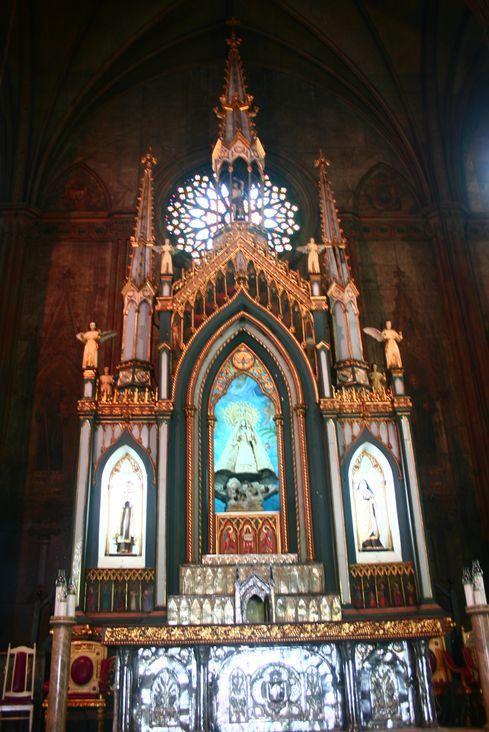 San Sebastian Church altar