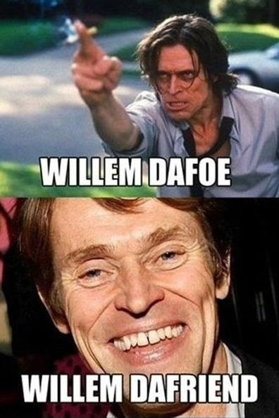 Funny Celebrity Punography Pictures - Willem Dafoe Willem Dafriend