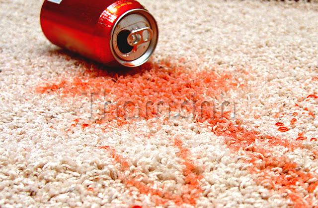 Loại bỏ vết ố vàng trên thảm rất đơn giản