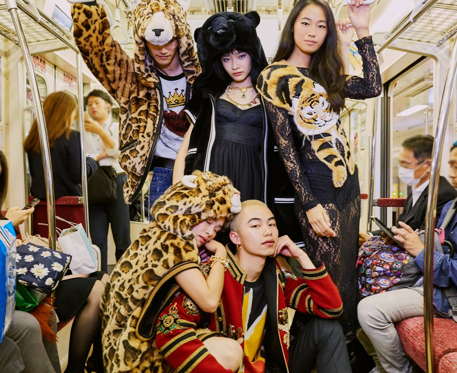 Dolce & Gabbana 'DG Loves Tokyo' Campaign