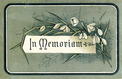 Image result for they were part of our lives in memoriam