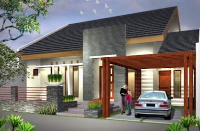 Gambar Model Atap Rumah Minimalis 1 & 2 Lantai Terbaru