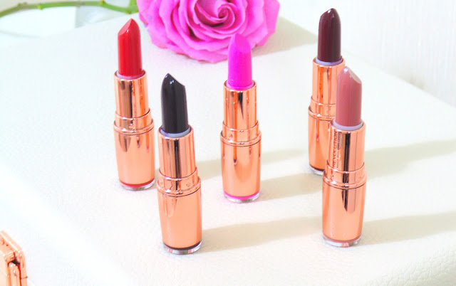 Makeup Revolution Rose Gold Lipsticks