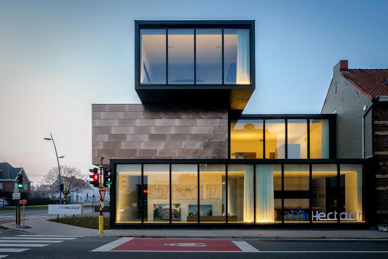 Simplicity Love Office Building Hectaar Belgium Caan Architecten