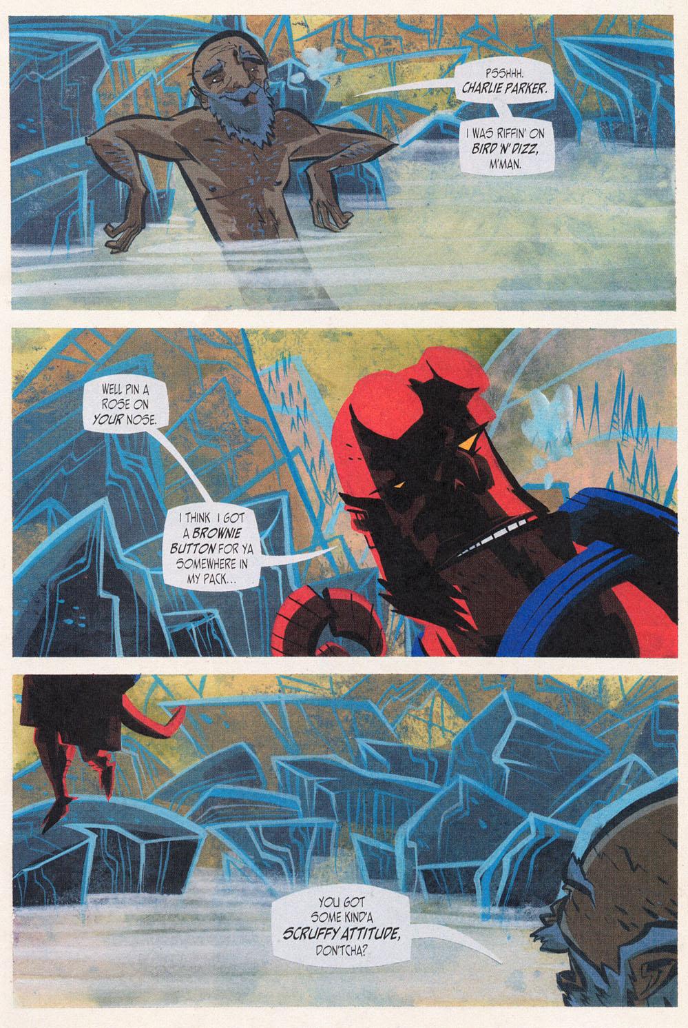 Read online Hellboy: Weird Tales comic -  Issue #5 - 15