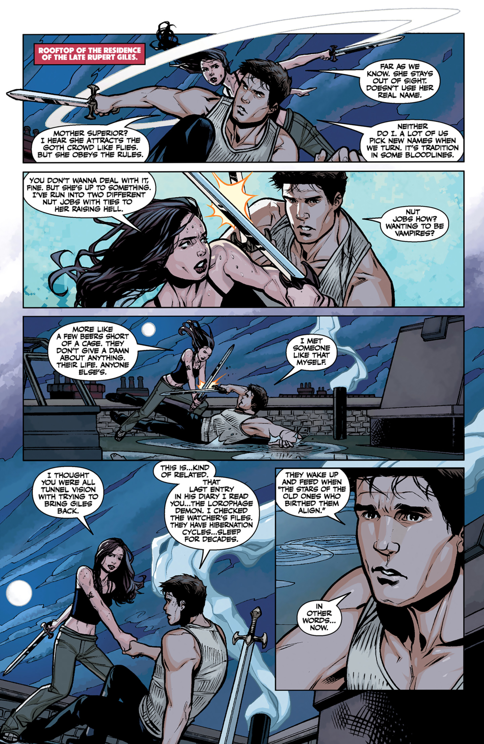 Read online Angel and Faith comic -  Issue #6 - 18
