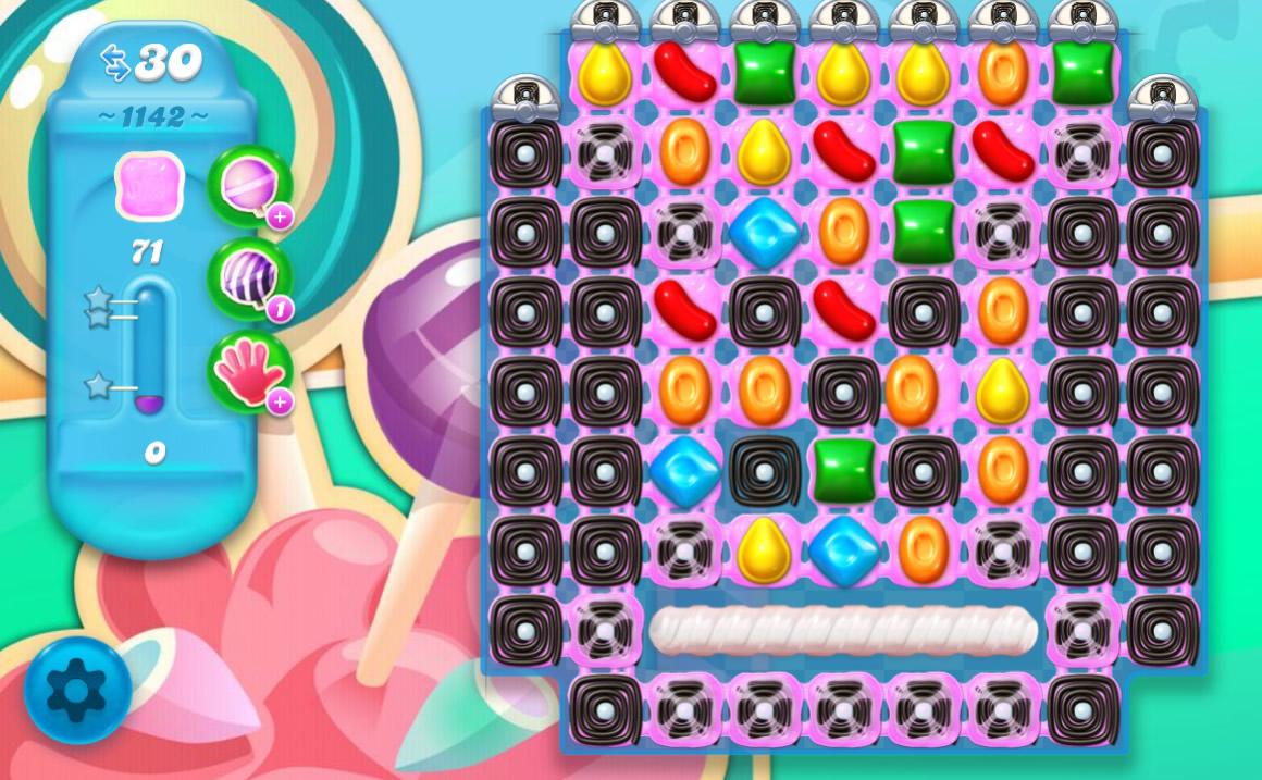 Candy Crush Soda Saga level 1142