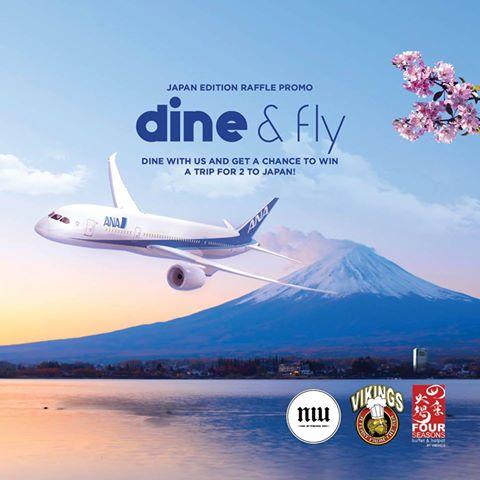 Win a Free Trip to Japan from Vikings, Four Seasons Buffet & Hotpot and Niu by Vikings