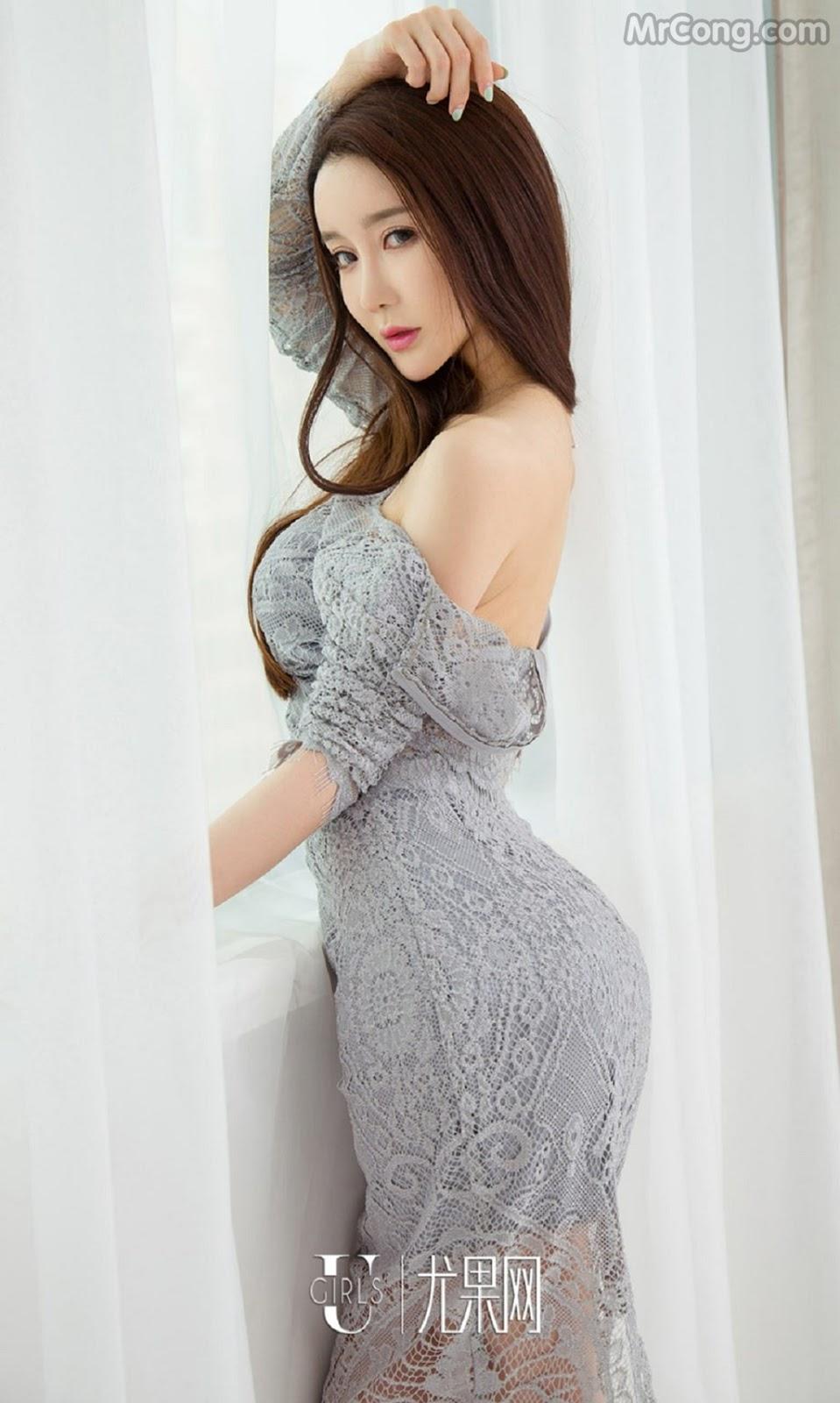 Image UGIRLS-Ai-You-Wu-App-No.733-Xia-Mei-MrCong.com-001 in post UGIRLS – Ai You Wu App No.733: Người mẫu Xia Mei (夏美) (39 ảnh)