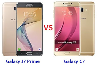 Perbandingan Samsung Galaxy J7 Prime vs C7