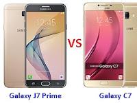 Samsung Galaxy J7 Prime vs C7 Harga dan Spesifikasi