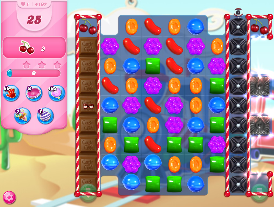 Candy Crush Saga level 4197