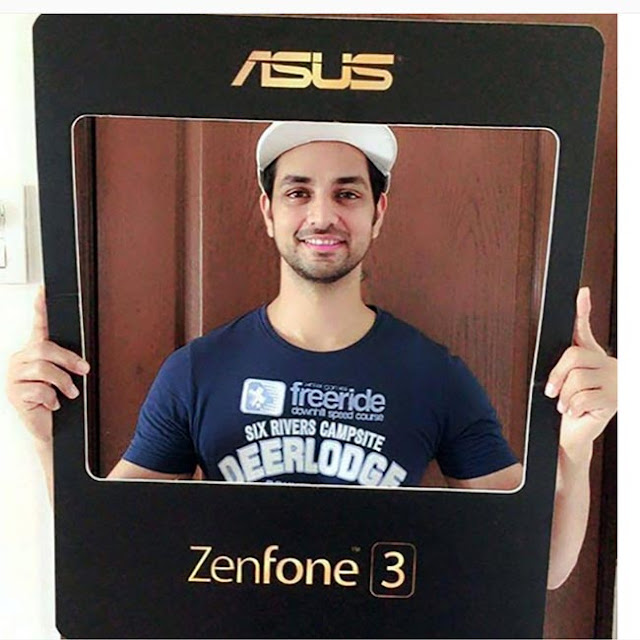 Shakti Arora promotes Asus Zenfone 3 series smartphones - TV actor Shakti Arora clicked during promotion of Asus Zenfone 3 series smartphones.
