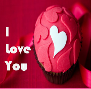 Pink Beautiful Heart With I love you.use this to impress Your Girlfriend..