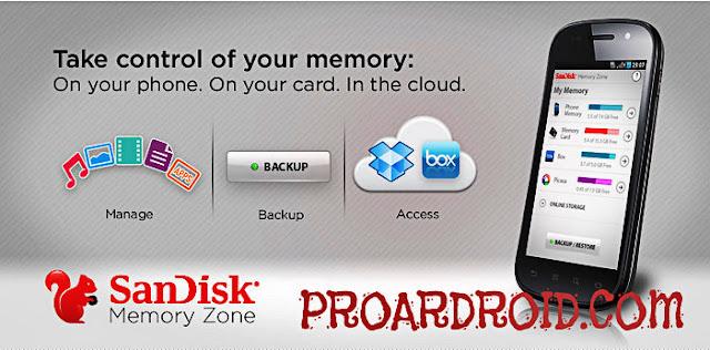 تطبيق SanDisk Memory Zone v4.1.5 Apk نسخة كاملة للاندرويد logo