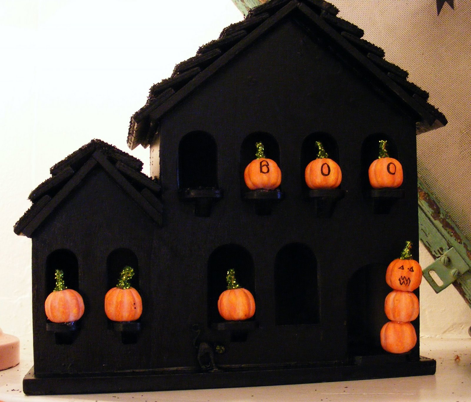 Halloween Home Decor Ideas: Foamies® 3D Foam Kit-Giant Haunted House