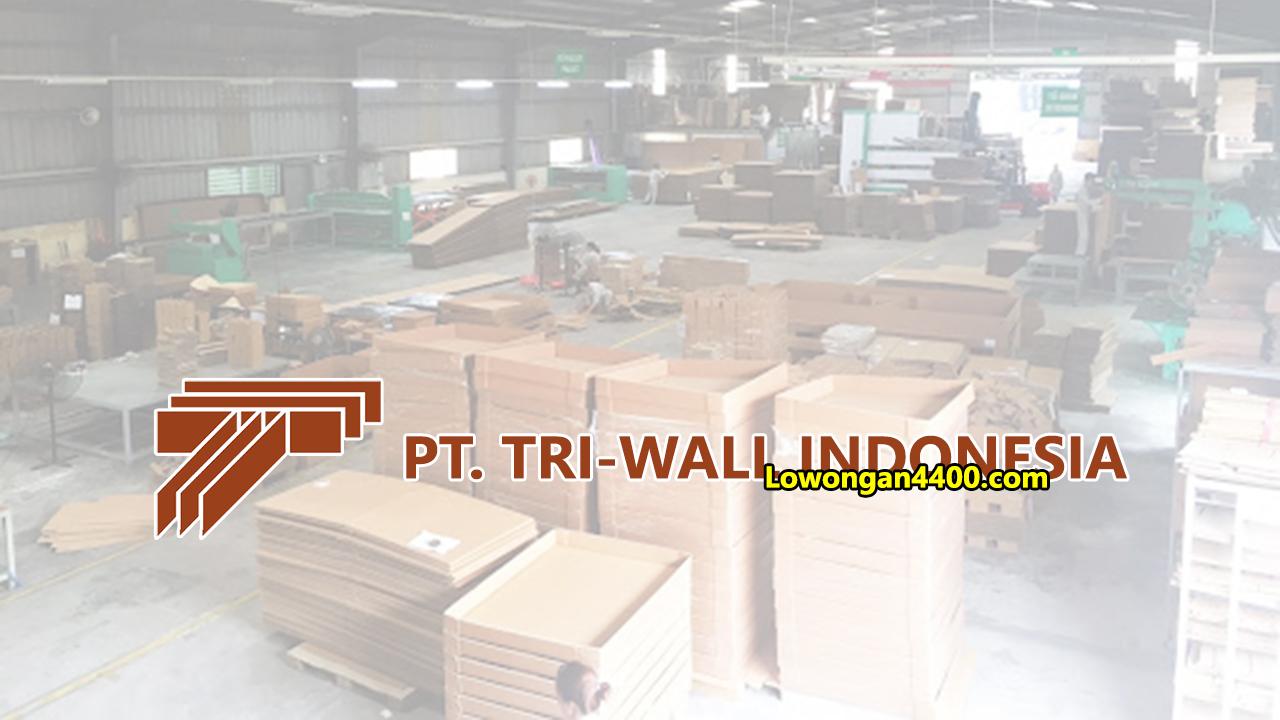 Lowongan Kerja PT Tri-Wall Indonesia