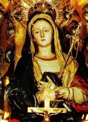 Imagen de la Nuestra Señora de la Candelaria a color
