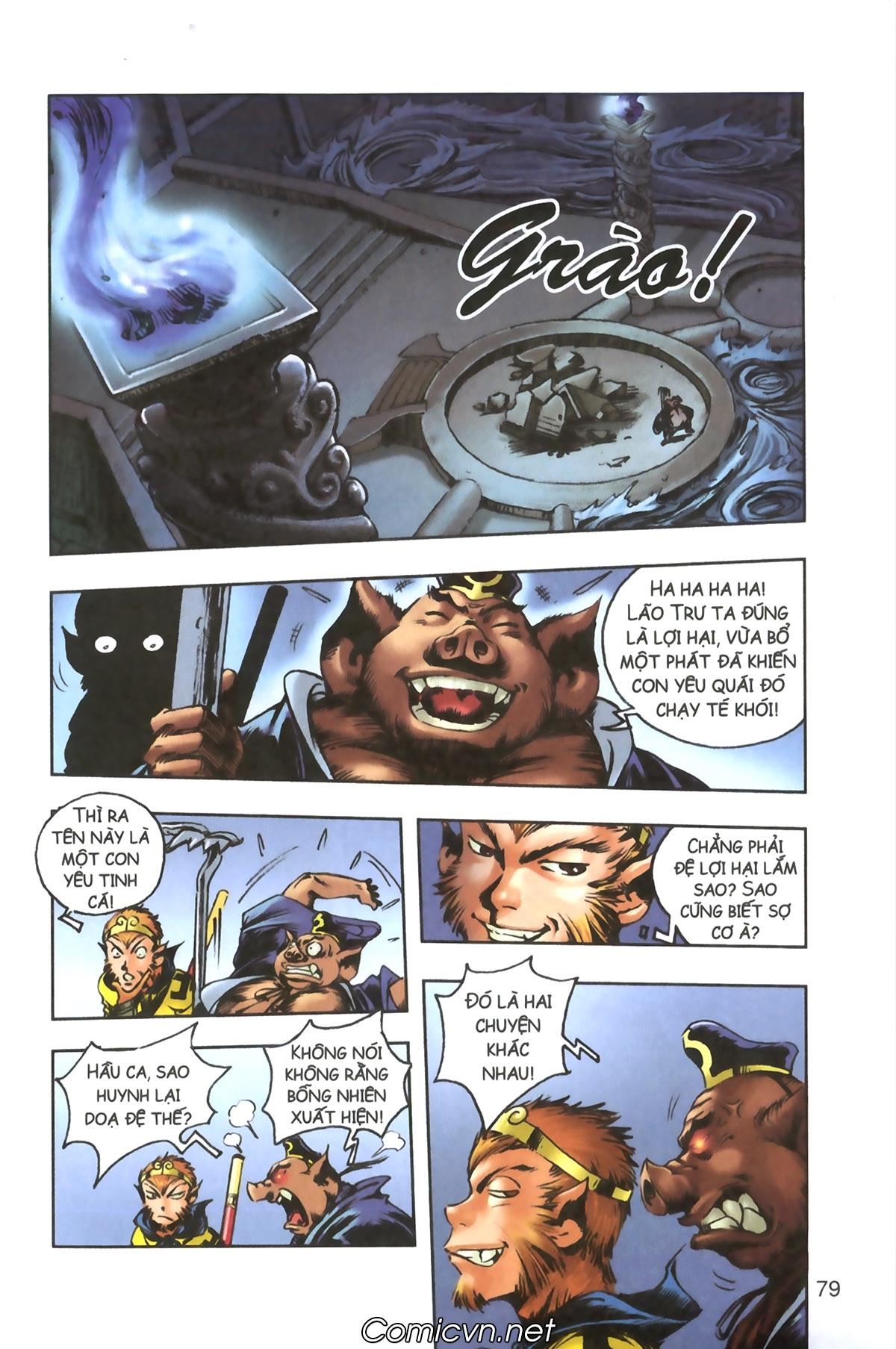 Tây Du Ký màu - Chapter 93 - Pic 16