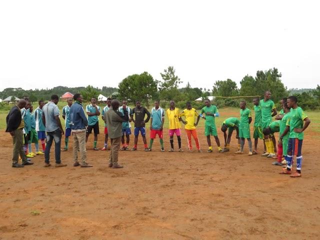 Kazilantemwa FC yaishinda Bureza FC 2-0 Ufunguzi Ligi ya  Breza Cup 2018.