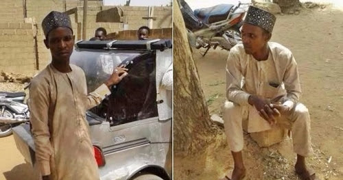 Talented Nigerian Man Uses Local Materials to Construct a Vehicle (Photos)