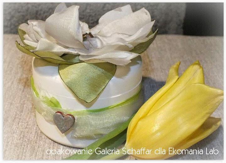 Ekomania Lab kosmetyki naturalne ekologiczne opakowania ręcznie zdobione Galeria Schaffar