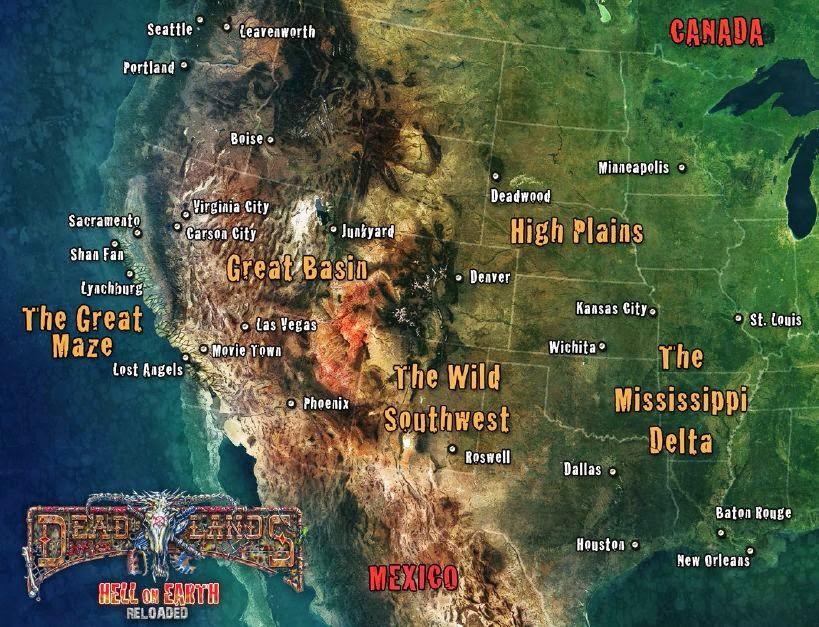 Deadlands California Map.Deadlands Character Sheet 002 Weird West Deadlands In 2019