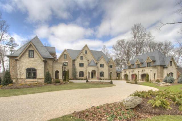 Eileen's Home Design: Custom French Estate In Atlanta, GA