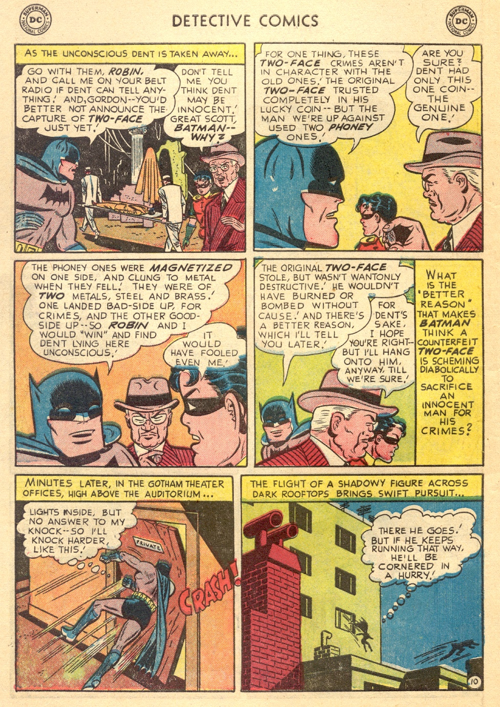 Read online Detective Comics (1937) comic -  Issue #187 - 12