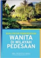 Buku Pintar Pemberdayaan Wanita di Wilayah Pedesaan