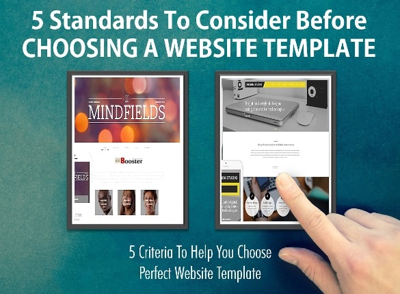 Standard Criteria Choosing A Perfect Website Template For WordPress Bloggers