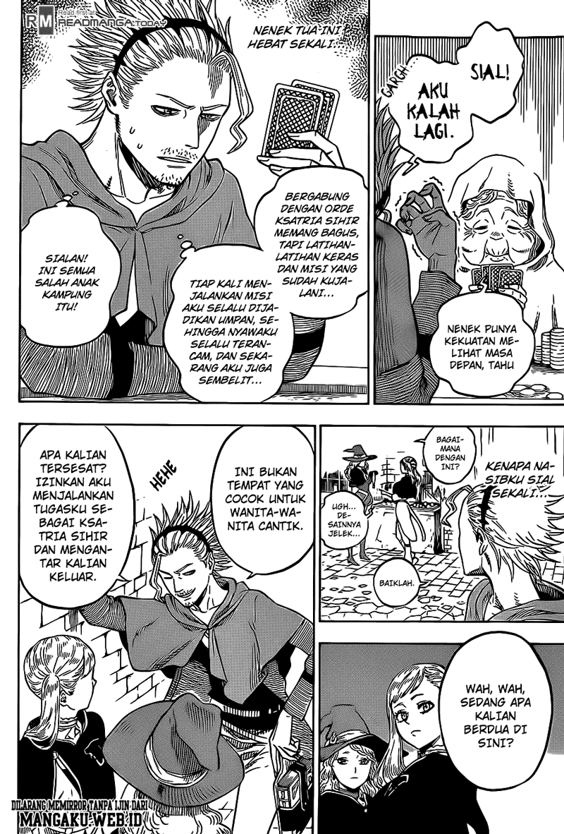 Black Clover Chapter 10 Bahasa Indonesia