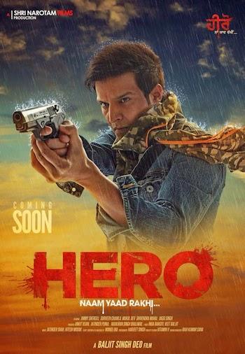 Hero Naam Yaad Rakhi (2015) Punjabi pDVD Rip 300mb