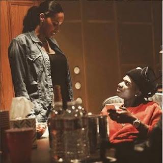 (Photos) Wizkid's 3rd Baby Mama, Jada Pollock Finally Unveils The Face Of Their Son