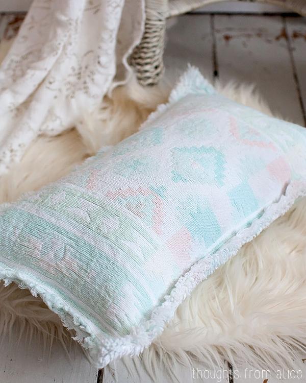 Placemat Throw Pillow