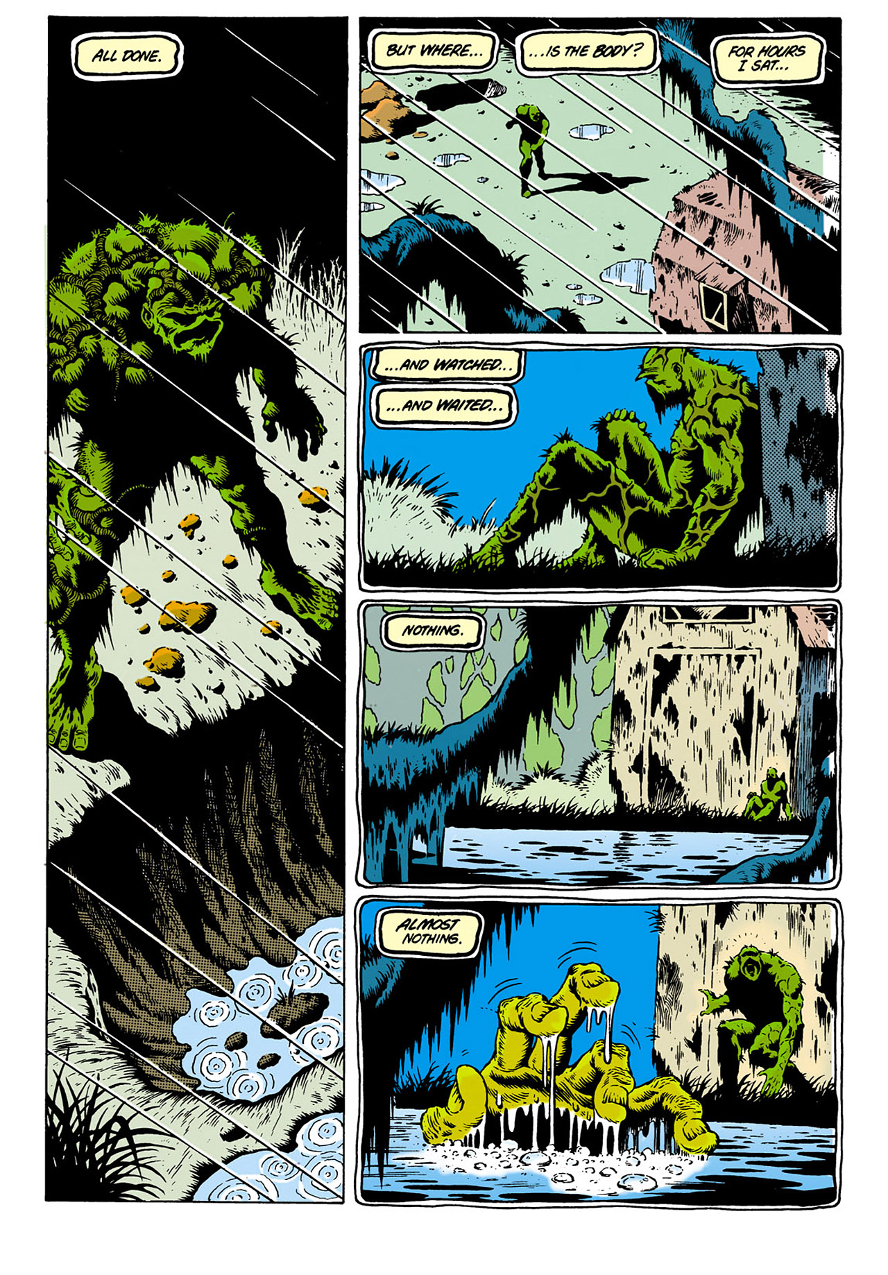 Swamp Thing (1982) Issue #28 #36 - English 17