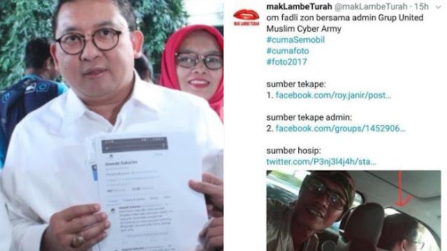 Dilaporkan Ke Polisi, Labe Turah Bilang Fadli Zon Cocoklogi