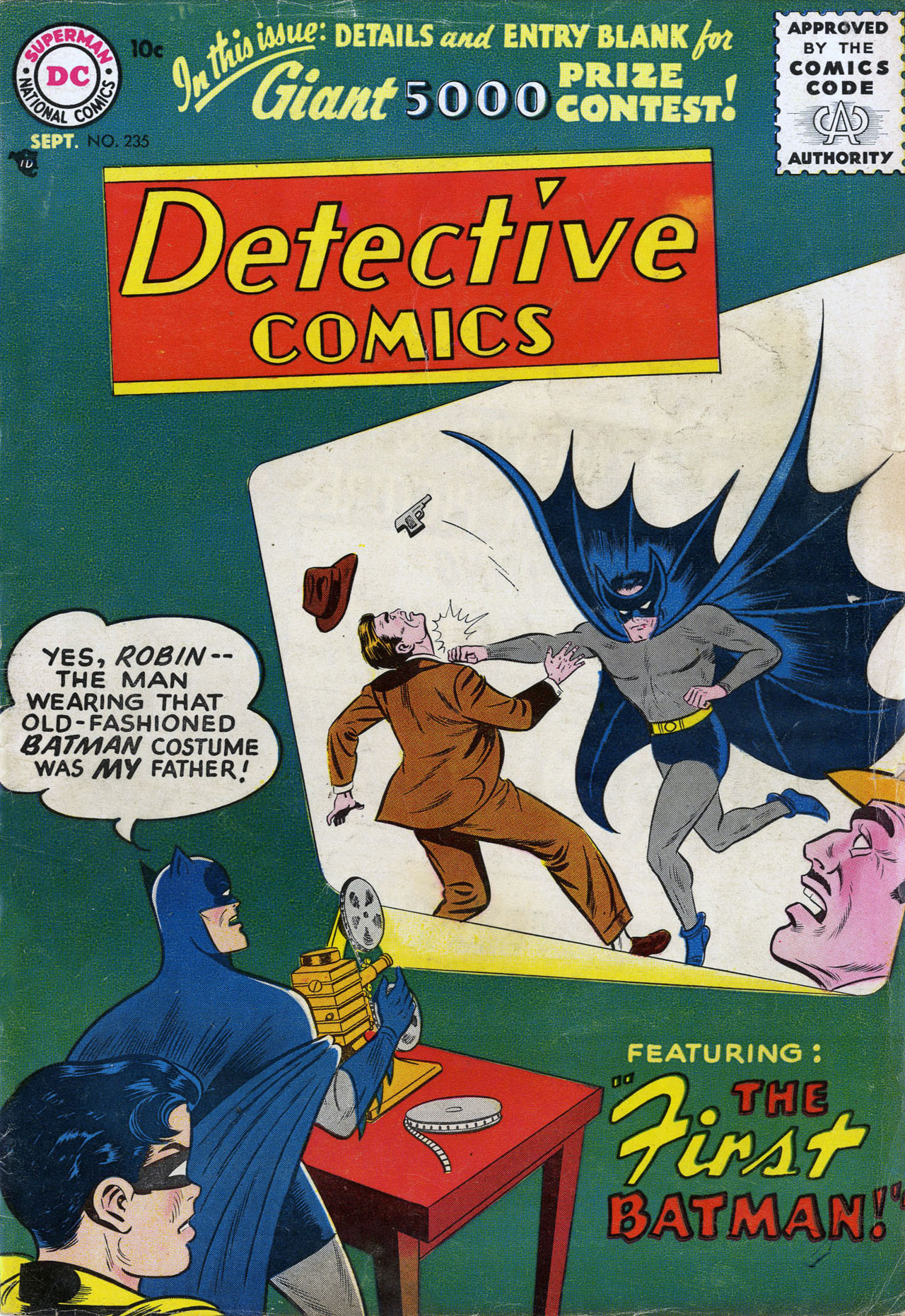 Read online Detective Comics (1937) comic -  Issue #235 - 1