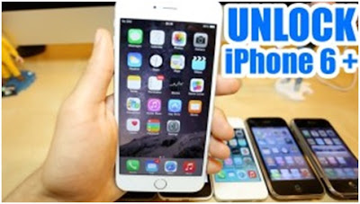 unlock iphone 6 plus Nhật