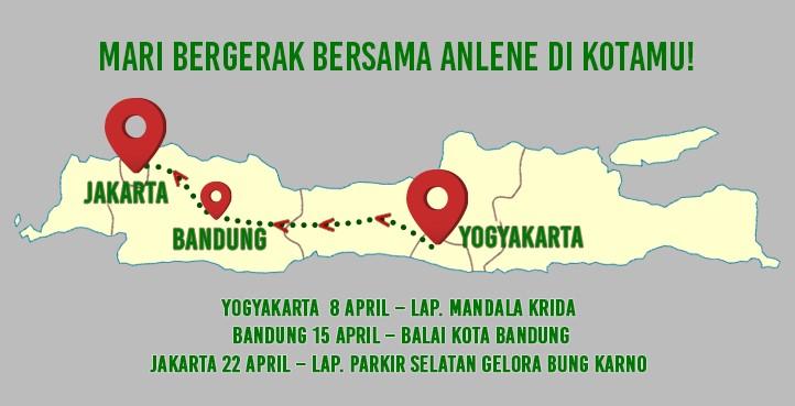 Anlene - Ayo Indonesia Bergerak Route 2018